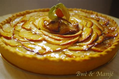 fait la cuisine tarte aux pommes pâte brisée compote gourmandises épicées