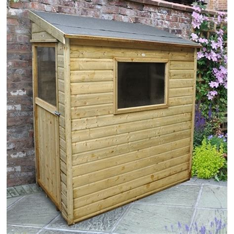 Pressure Treated Shiplap - 6ft x 3ft shiplap pressure treated wall shed