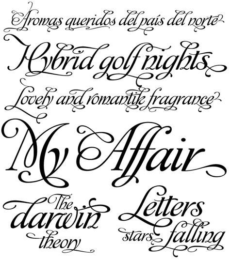 ideal tattoo art tattoo fonts