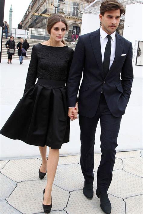 olivia palermo  black dress thecelebritydresses