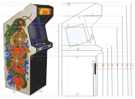 woodwork arcade cabinet plans metric pdf plans