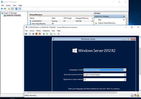 hyper v console tips about windows 10 hyperv machine connectivity