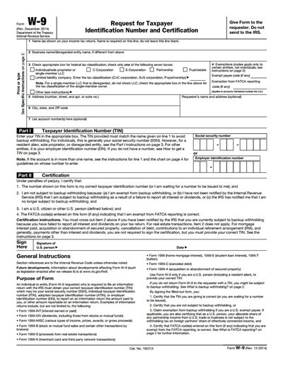 irs w 9 form free create edit fill and print