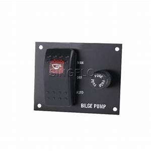 Sale Bilge Pump Switch Panel Auto  Off  Manual Rocker Switch