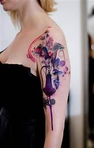 Tattoo Vogel Schulter Schulter Vogel Aquarell Tattoo Von Dead