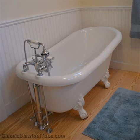 clawfoot tub images 60 quot acrylic slipper clawfoot tub classic clawfoot tub