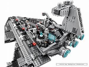 Lego Star Wars - Imperial Star Destroyer (by Lego) 75055 ...
