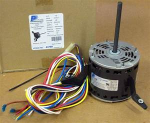 43788 A  C Blower Motor 1  2 Hp 230 V 1075 Rpm For Goodman