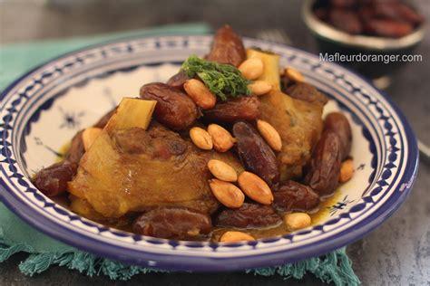 ma cuisine marocaine souris d agneau aux dattes