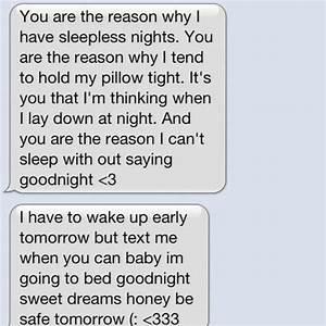 Cute Goodnight Texts For Him | www.pixshark.com - Images ...