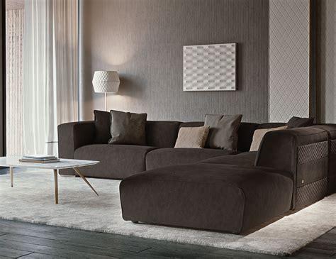 nella vetrina rugiano freud  sectional sofa  leather