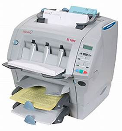 used secap si 1000 folder inserter folding and inserting With automatic letter folder envelope inserter