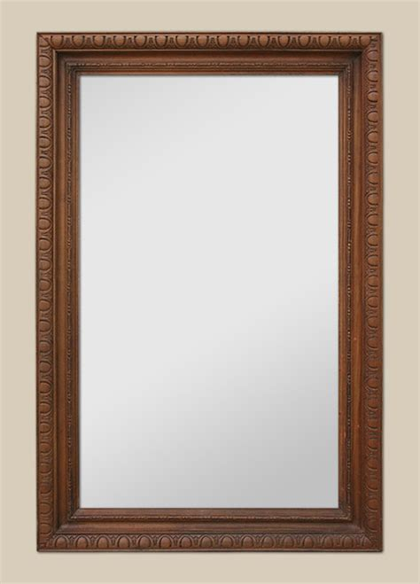 grand miroir en bois sculpt 233 teint 233