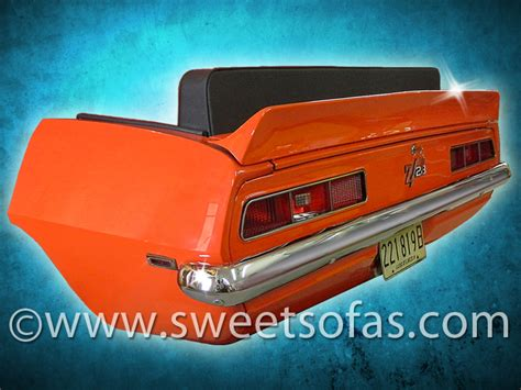 1969 Camaro Car Furniture, Car Couch, by sweetsofas.com | Car furniture, Camaro car, Car