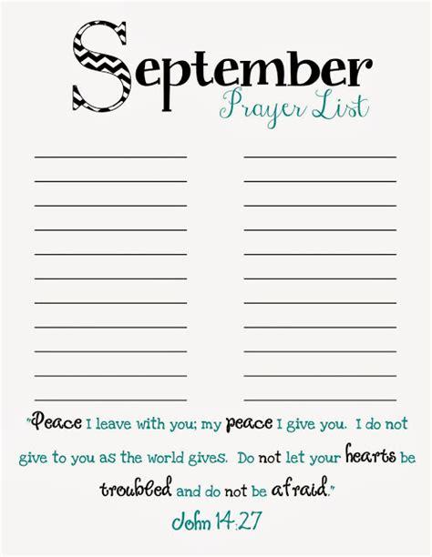 doodles stitches prayer list printable september