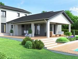 Maison En L Moderne : constructeur maison contemporaine rh ne alpes maisons id ales ~ Melissatoandfro.com Idées de Décoration
