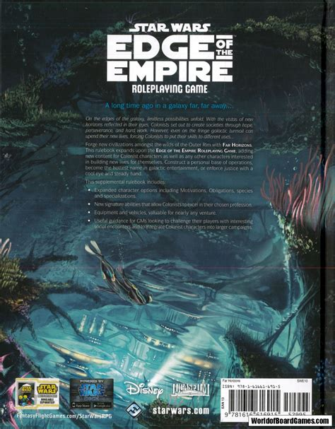 Star Wars: Edge of the Empire - Far Horizons ...