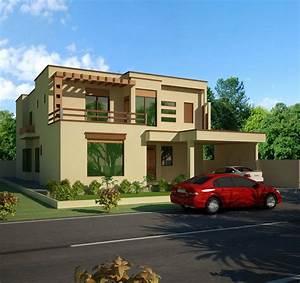 Front, Elevation, Design, House