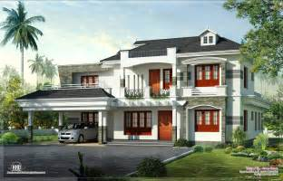 new style kerala luxury home exterior home kerala plans