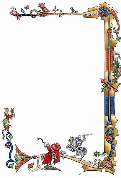 Medieval Frames Clipart