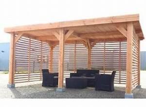 Abris De Terrasse En Kit : charpente en bois structure toit plat petit prix ~ Dailycaller-alerts.com Idées de Décoration