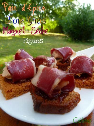 recette canapes magret foie gras