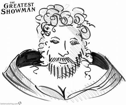 Showman Greatest Coloring Pages Printable Bettercoloring