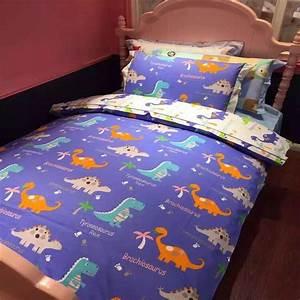 Free, Shipping, Cotton, Printing, Children, Cartoon, Dinosaur, 3