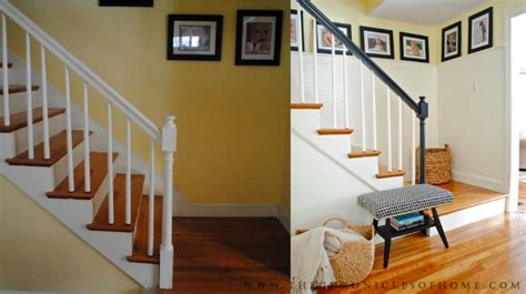 Beadboard Staircase : Stairs Makeover Complete!