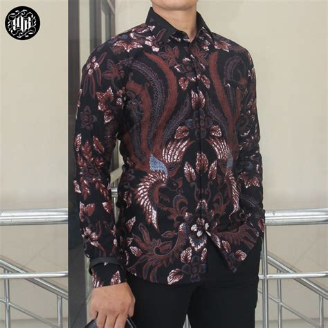 parang adhigana mens batik slim fit
