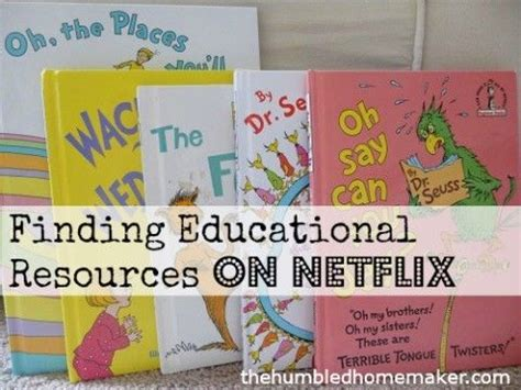 Educational Shows On Netflix