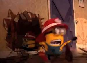 Video: Despicable Me 2 Firefighting Minions (I think they ...