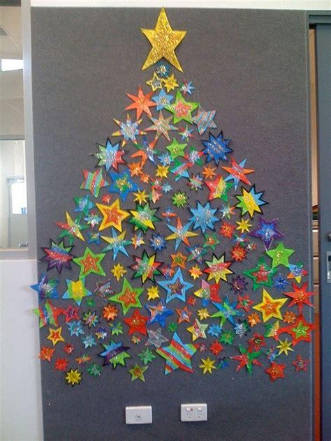 paper christmas tree bulletin board bulletin boards and classroom ideas myclassroomideas
