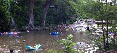 krause springs swimming hole offers camping grilling