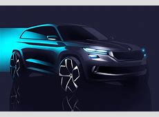 Skoda VisionS Concept Previews 7Seater