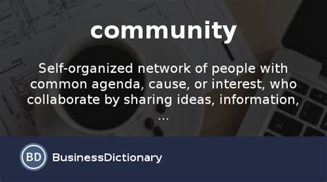 What Is Community? Definition And Meaning