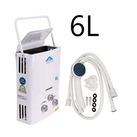 propane tankless water heater reviews ship from us 6l propane gas lpg tankless water