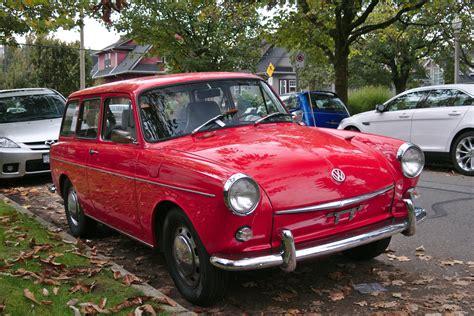 volkswagen squareback old parked cars vancouver 1968 volkswagen squareback