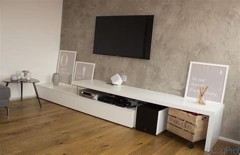 pittura soggiorno pareti effetto cemento e il trionfo dello stile