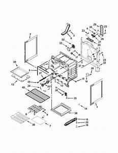 Chassis Parts Diagram  U0026 Parts List For Model Wfe540h0es0