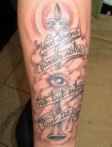 Tattoo Design: Tattoo on Leg For Girls