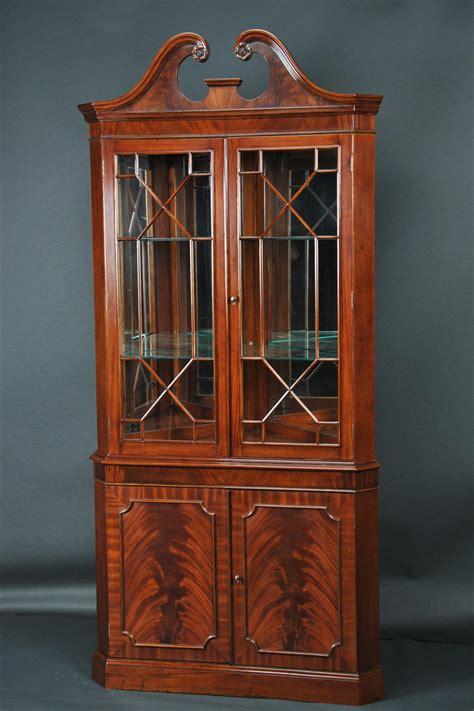 corner china cabinet hutch mahogany corner china cabinet corner hutch corner curio