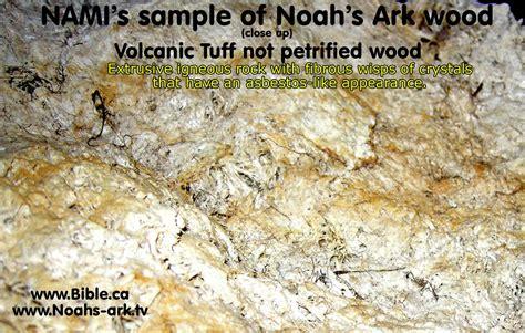 nami ark noahs found discovered patton china parasut petrified wood rebuttal dec dr don fraud build