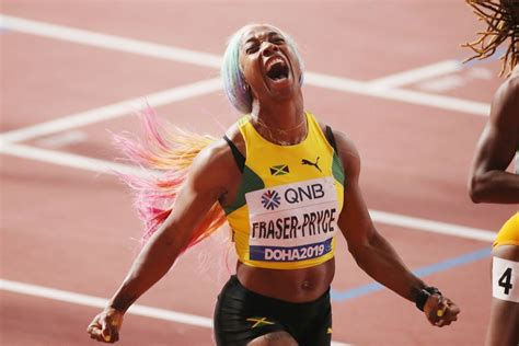 Aug 21, 1986 (34 years old) gender: Mother's day out at athletics Worlds: Fraser-Pryce claims 4th 100m gold, Felix breaks Bolt's record