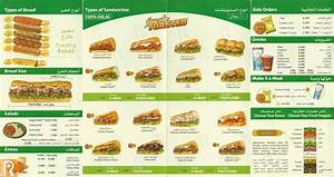 Subway Kuwait Delivery Menu and Prices :: Rinnoo.net Website