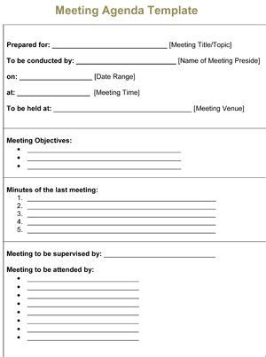 image result   printable meeting minutes template
