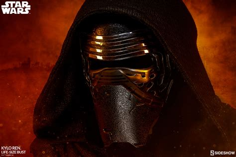 wars kylo ren size bust by sideshow collectibles sideshow collectibles