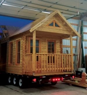 Tiny House Builder Makes Big Impact  Sand  April 2016