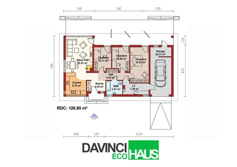 plan de maison 5 chambres plain pied gratuit demandez une etude gratuite des mainetnant maison