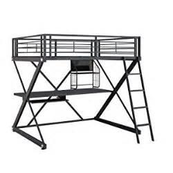 Dorel Bunk Bed by Amazon Com Powell Z Bedroom Full Size Loft Study Bunk Bed